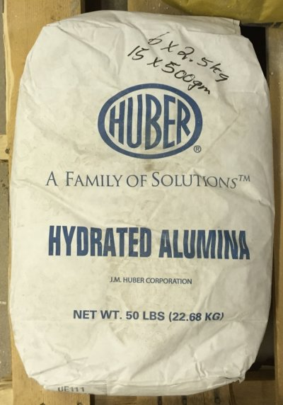 An original container bag of Alumina Hydrate
