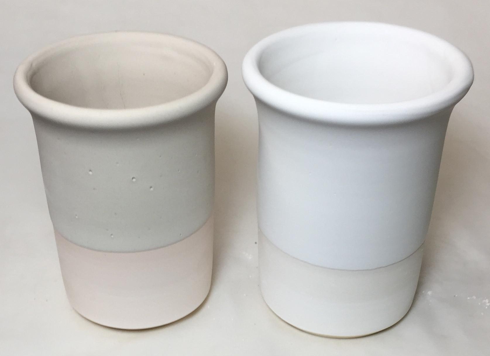Feldspar applied as a glaze? Yes! The way I did it will change how you glaze.