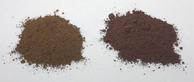Raw Umber vs. Burnt Umber