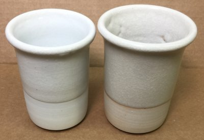 Pure Custer Feldspar and Nepheline Syenite on cone 10R porcelain bodies