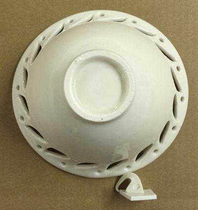 Do not overfire translucent porcelain like Polar Ice