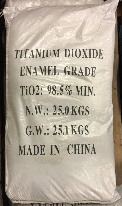 Original Container Bag of Titanium Dioxide