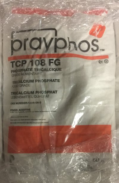 Original Container Bag of Tri-Calcium Phosphate