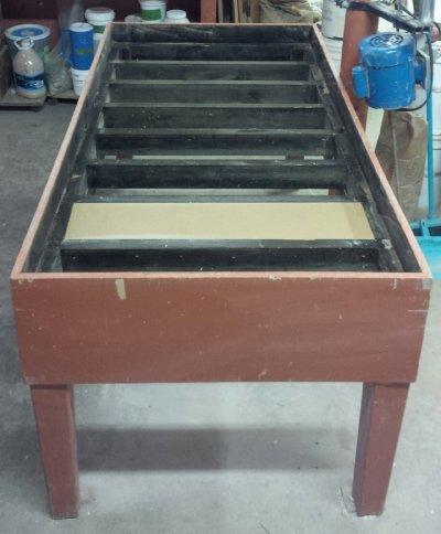 Plaster table frame